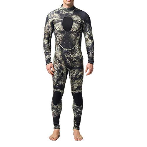 LiangDa Herren Neoprenanzug Herren 3MM Camouflage Neopren Taucheranzug Super Stretch Taucheranzug Ideal Zum Tauchen (Color : My044, Size : M)