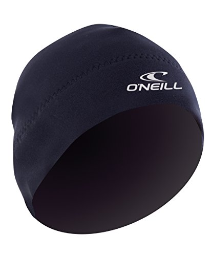 O'Neill Wetsuits Neoprene 2mm Beanie, Black, Medium