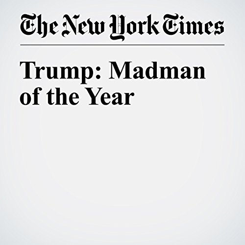 Trump: Madman of the Year cover art