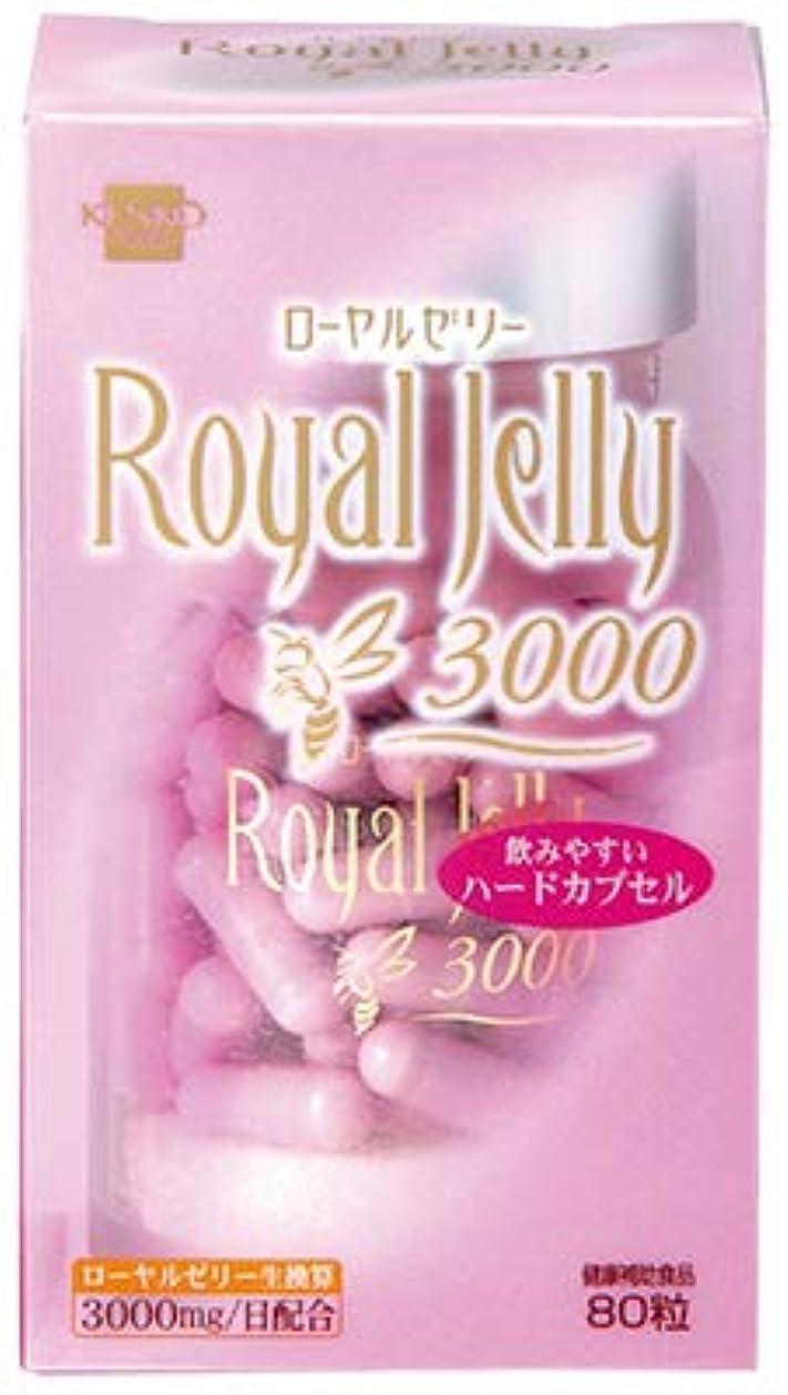 輝く宣言ペースト【健康フーズ】Royal Jelly 3000 80粒 ×10個セット