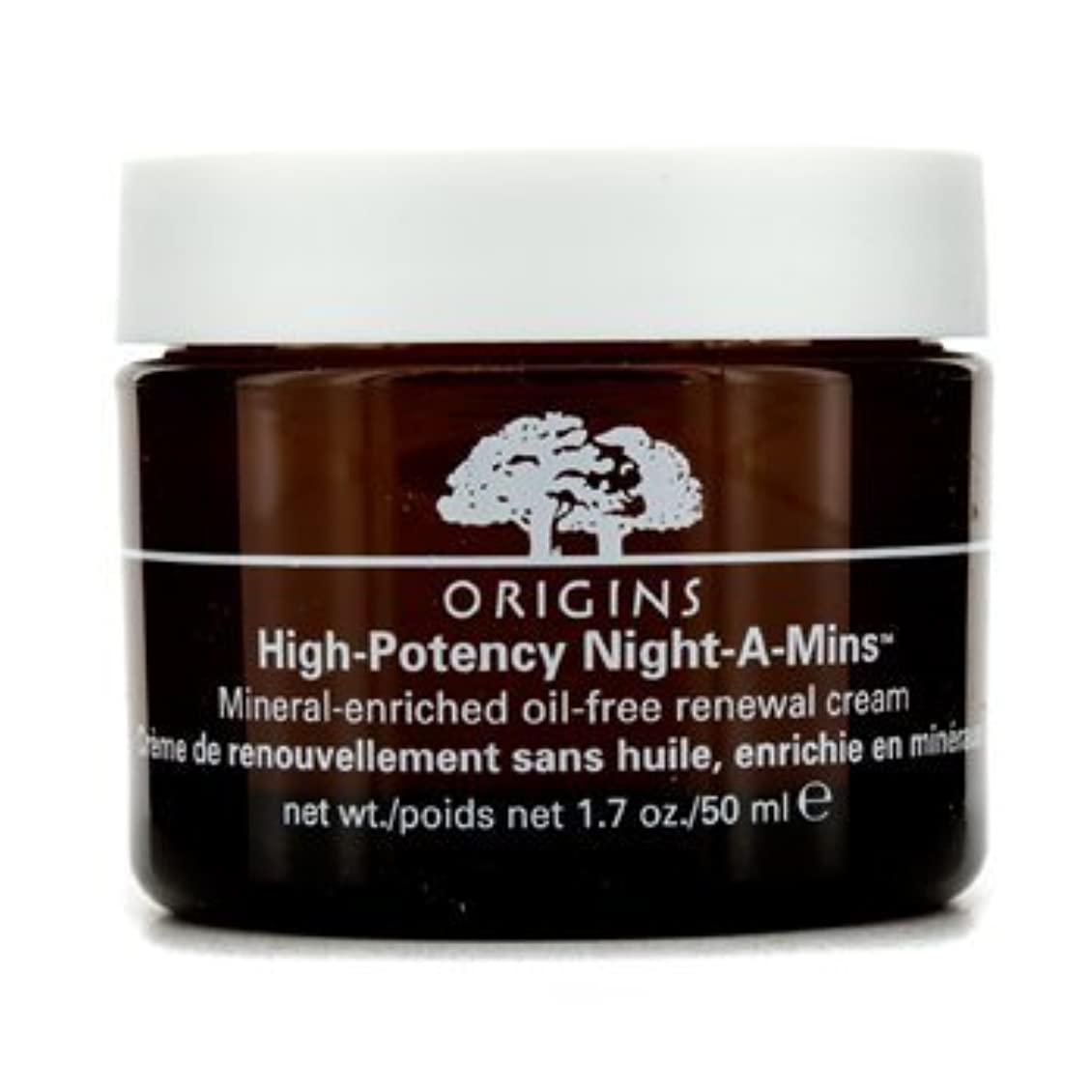 スキニー迫害バッチOrigins High Potency Night-A-Mins Mineral Enriched Oil-Free Renewal Cream 50Ml/1.7Oz by Origins [並行輸入品]