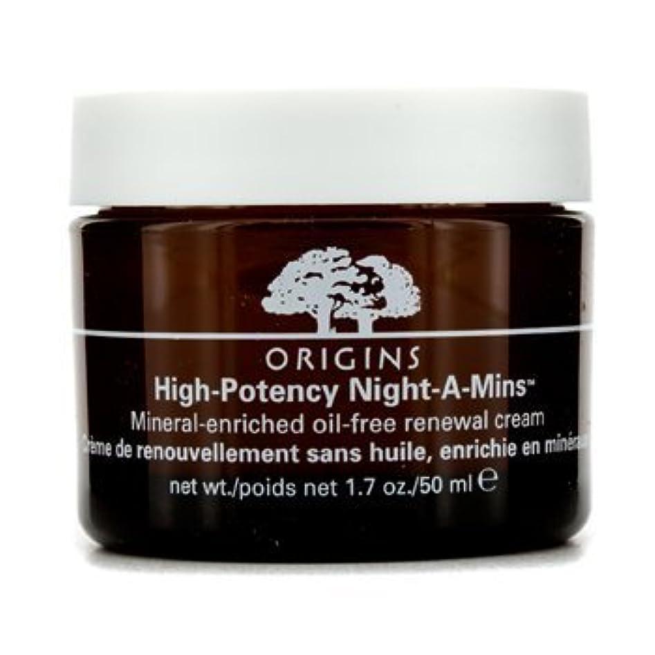 学期目の前の不快なOrigins High Potency Night-A-Mins Mineral Enriched Oil-Free Renewal Cream 50Ml/1.7Oz by Origins [並行輸入品]