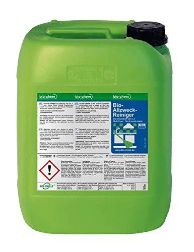 bio-chem Bio Allzweckreiniger Küchenreiniger 10.000 ml Kanister inklusive Zubehör Multi Clean Kraftreiniger Konzentrat