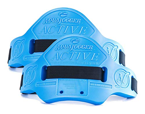 AquaJogger Active Belt 2 Pack, The Leader in Aquatics Exercise, Suspends Body Vertically in Water, Pool Fitness