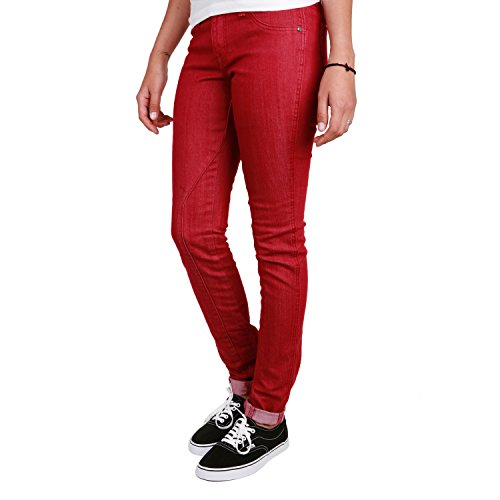 Volcom Pistol Skinny fit Jeans Rouge Bordeaux 30