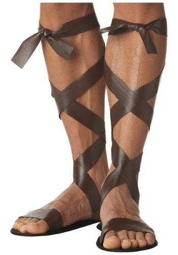 Adult Roman Sandals Standard Brown