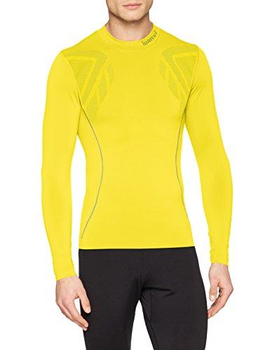 Luanvi Sahara Camiseta térmica, Hombre, Amarillo, XS