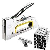 JJ PRIME 6/8 mm Pistola Grapadora de acero para Tapicería con 2500 Grapas Gratis