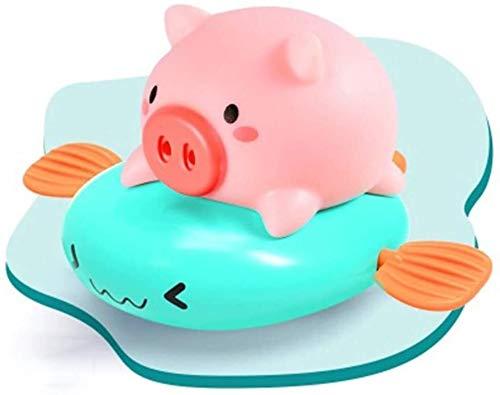 BBGSFDC Baño del bebé Juguetes de bañera Piscina Juguete de Cuerda flotando mecánica Cerdo for niños pequeños Niños de Viento de hasta Cerdo Animal baño Juguetes for Niños