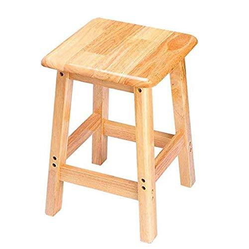 Trittleiter Massivholzhocker Quadratischer Hocker Tritthocker Wohnzimmer Tischhocker Adult Barhocker Leiterhocker