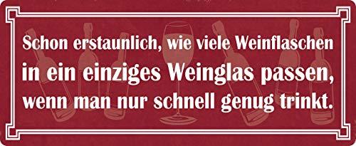 Metalen bord 27x10cm gebogen wijnflessen wijnglas wijn decoratie geschenk bord