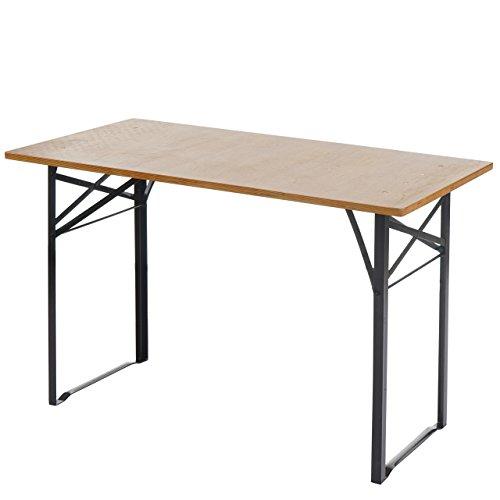 Mendler Tisch Lustenau, Festzelttisch Biertisch, klappbar 115cm