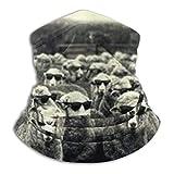 Gafas Ovejas Arte Pintura Cuello Calentador Polaina Pañuelo Envoltura de la Cabeza Bufanda Gorros Pasamontañas
