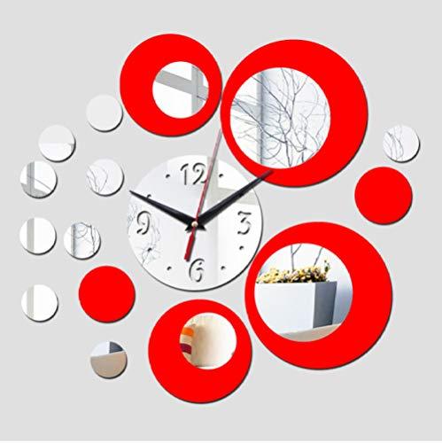 Wandklok Digitale Persoonlijkheid Acryl Wandklok Kunst Moderne Woonkamer Klok Groot