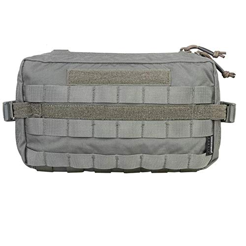 EMERSONGEAR Tactical MOLLE Horizontal Admin Pouch, Mighty EDC Tool Bag,Compact Spacious Utility Molle Pouch for Organizing Your Every Day Carry Or Tools Foliage