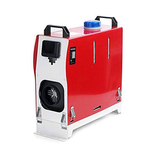 QIAO Calentador de Aire Diesel Termostato LCD del Sistema del Calentador del vehículo 8KW para camión, Barco, Remolque de Coche, autocaravanas, turismos, autocaravanas, caravanas,8kw,24V