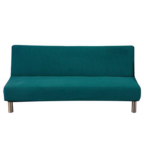 Lembeauty Funda de sofá plegable para sofá cama impermeable elástica engrosada, totalmente cubierta, 3 asientos, protector universal de forro polar