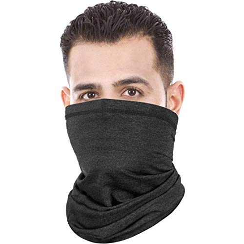 ER-ESTAVEL Multifunktionstuch Schlauchschal Gesichtsmaske Motorrad Mundschutz Super Elastisch Halstuch Bandana Sonnenschutz Maske für Herren Damen