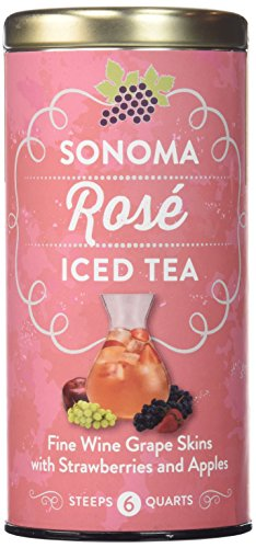 The Republic of Tea Sonoma Iced Tea Pouches (Sonoma Rose Iced Tea, 6 Pouches)