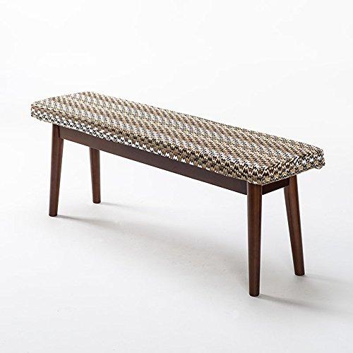 ZHANGRONG- Banc en bois massif Long banc Tabouret Tabouret casual créatif 115 * 28 * 43CM (L * W * H) -Tabouret de canapé (Couleur : D)