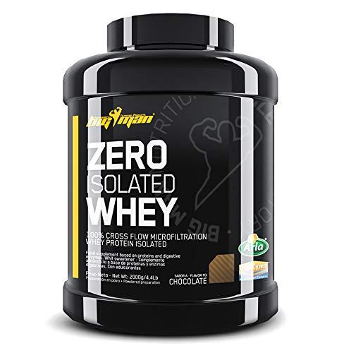 Big Man   Proteína Aislada ZERO Chocolate 4,4 Lb