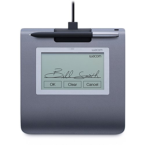 Wacom STU-430-SP-SET Signature Set (inkl. Pad/-Stift/Sign Pro PDF Software) grau
