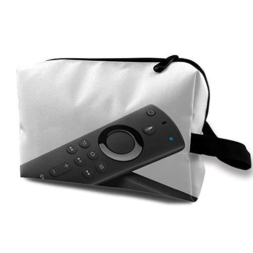 Hdadwy Schminktasche Kosmetiktasche Fire Tv Stick mit Alexa Voice Remote Streaming Media Player Multifunktionale Tasche Travel Kit Aufbewahrungstasche
