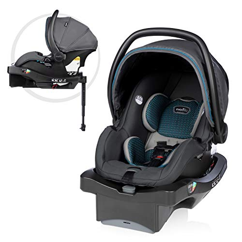 LiteMax DLX Infant Car Seat with FreeFlow Fabric, SafeZone and Load Leg Base