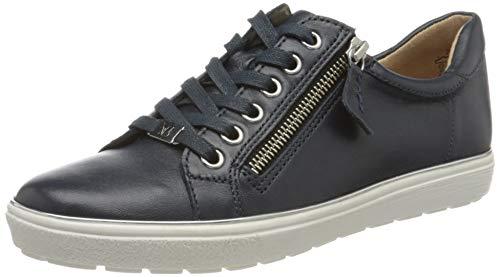 Caprice Damen Manou Sneaker, Blau (Ocean Nappa 855), 41 EU