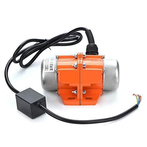 Asynchronous Vibrating Motor,Jadpes 1 PCS 30W-100W 1/3 Phase Vibrator Motor Asynchronous Vibrating Motor for Mechanical Equipment Concrete Vibrators Mixers Vibrating Table(1 Phase 30W)