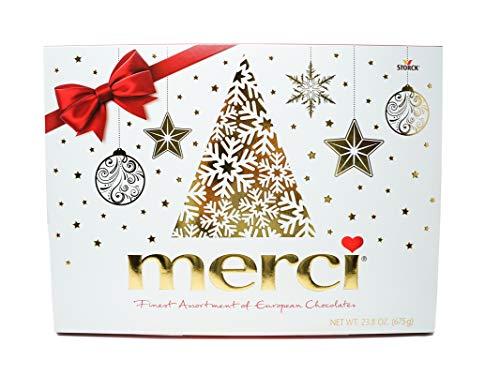 Merci Merci Assorted Of European Chocolates (Net Wt 23.81 Ounce ),