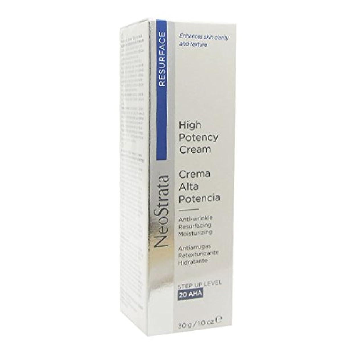 名目上のシリンダー効率的にNeostrata High Potency Cream Anti-wrinkle Resurfacing Moisturizing 30g [並行輸入品]