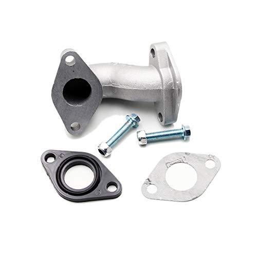 PZ19 19MM Carburator Intake Pipe Manifold with Gasket Screw Kit For 50cc 70cc 90cc 110cc 125cc Pit Dirt Bike ATV Quad Z50