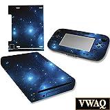 Wii U Skin Galaxy Skins para Nintendo Wii U Consola y Gamepad Space Skin Nintendo Wii U VWAQ-WGC1