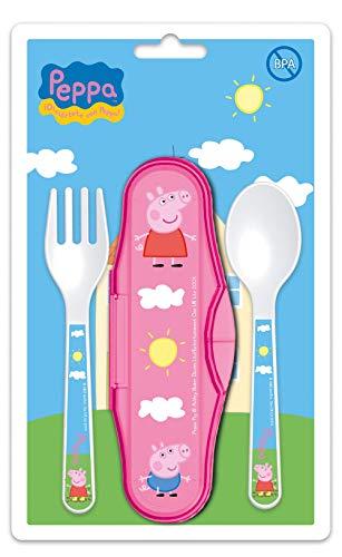 Besteckkoffer 2er Set Peppa Pig Baby