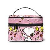 Make-up-Tasche, Snoopy Reise-Kosmetiktasche, große Tasche, Mesh-Pinsel-Organizer, Kulturbeutel für...