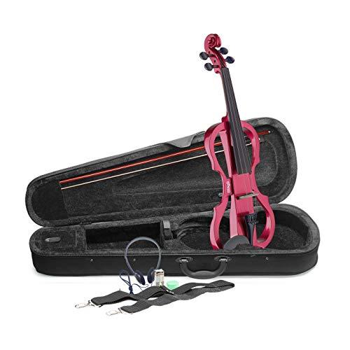Stagg EVN X-4/4 MRD tamaño completo violín eléctrico,