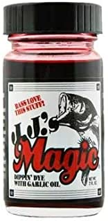 The Reel Shot JJ's Magic Dippin Dye (Blood Red, 2 oz.)