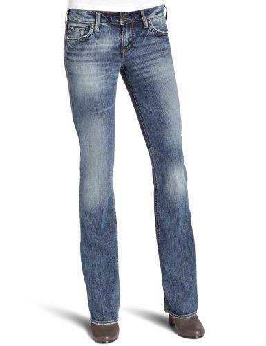 Zilveren Jeans Dames Aiko Bootcut Jean
