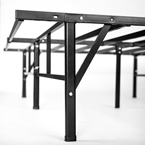 Zinus Dawn 14 Inch Easy To Assemble SmartBase Mattress Foundation / Platform Bed Frame / Box Spring Replacement, King