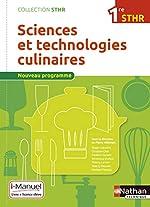 Sciences et technologies culinaires 1re STHR de Biago Capuano