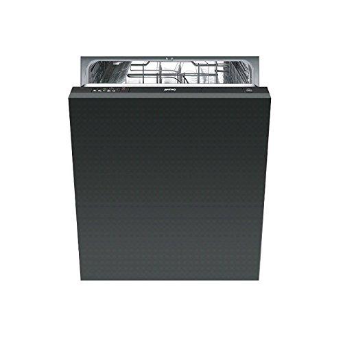 Smeg STE521 Entièrement intégré 12places A+ Lave-vaisselle (entièrement intégré, noir, boutons, condensation, 12 couverts, 49 dB)