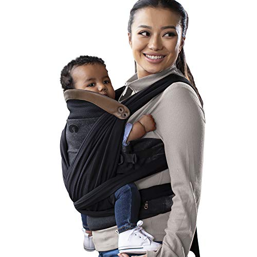 Boppy ComfyChic Baby Carrier 4 Carrying Positions Charcoal