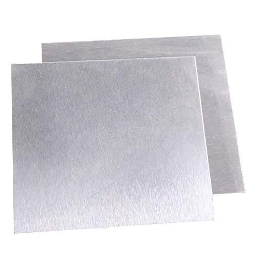 Wzqwzj AZ31B Magnesium Platte, Blech aus Magnesiumlegierung, für metallurgische und chemische, Größe: 100mmx100mm,Thickness: 1mm