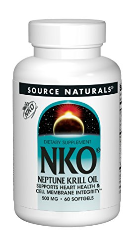 Longevity Neptune Krill Oil NKO 500Mg 60 Softgel