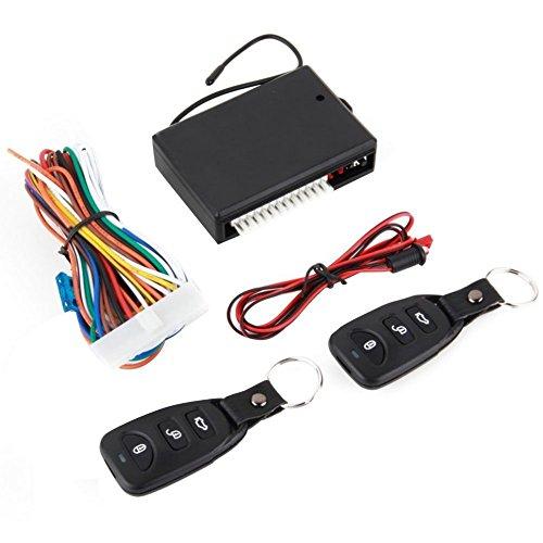 Kit fermeture centralisée porte voiture à distance, 2 télécommandes universelles, ouverture de coffre