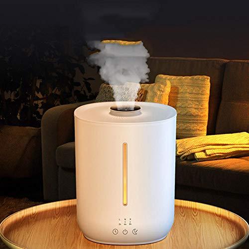 Purificador de aire, humidificador 240 V, purificador de aire doméstico, humidificador ajustable, para habitaciones de trabajo y dormitorio, 194 x 181 x 248 mm