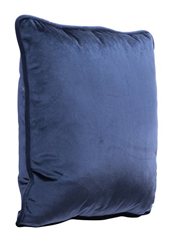 Zuo Velvet Pillow, Blue