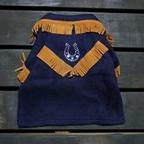 犬のジャケット【馬蹄ウエスタンジャケット】 (Lサイズ)