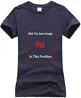 New Summer Tee Shirt Bonsai Ying Yang Japan Tree Sun Buddhist Zen Circle Tshirt Cool T-Shirt:Women-Navy, S